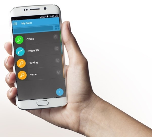 control various gates and doors with your smartphone using the PalGate system